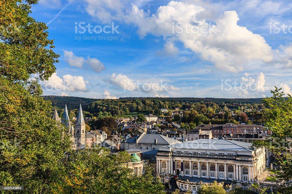 Spa, Belgium stock photo