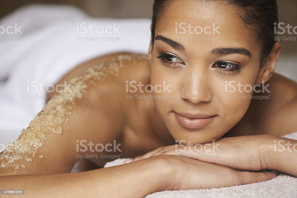Spa Bliss stock photo