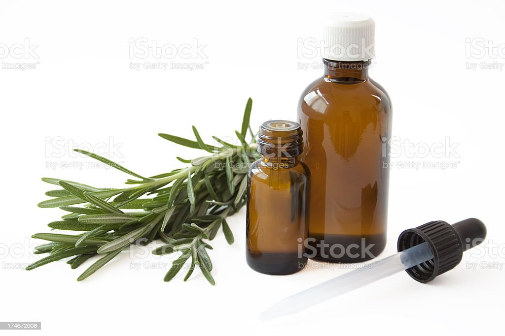 Spa Bottles royalty-free stock photo