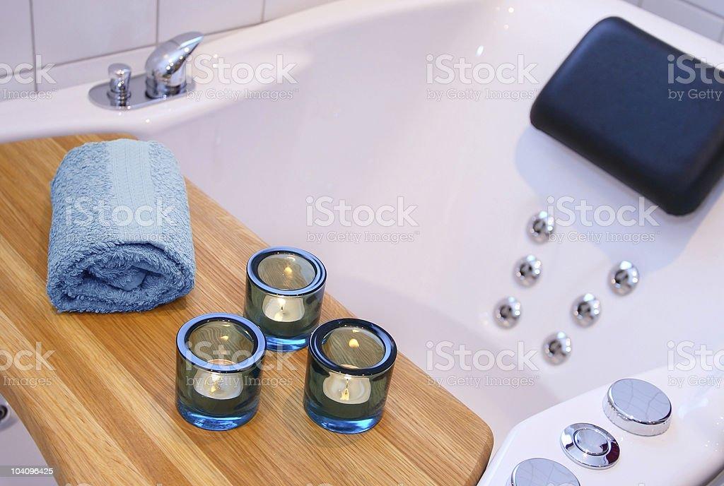 Spa bubblebath royalty-free stock photo