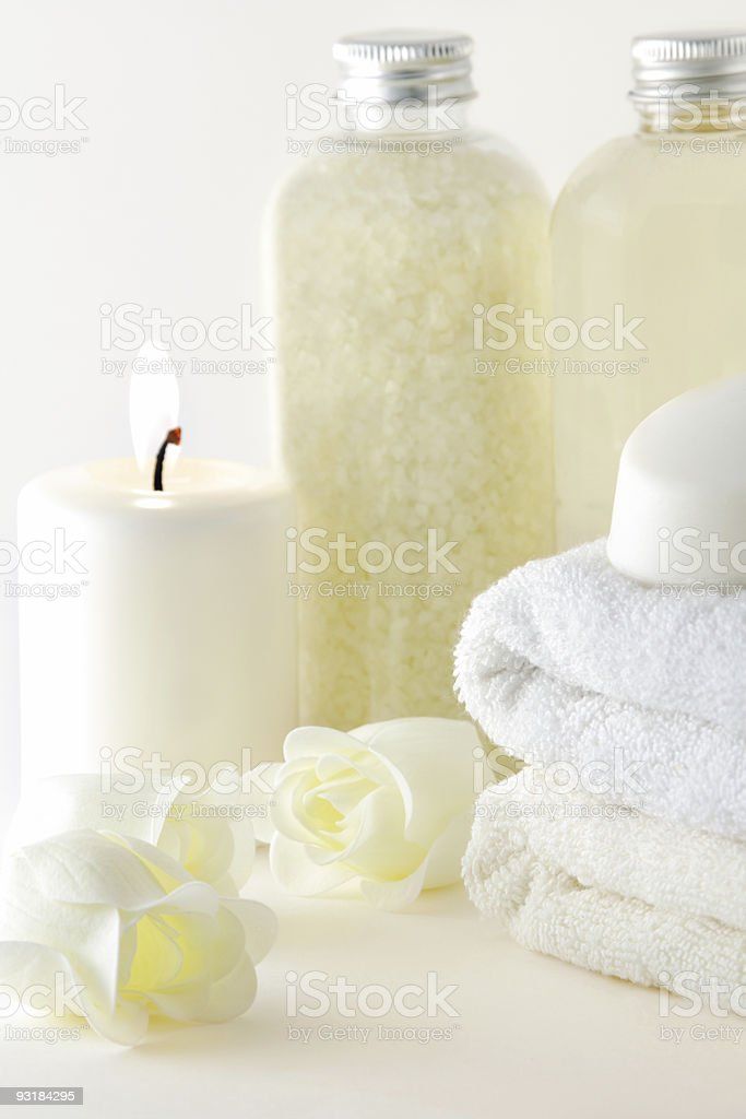 Spa collection royalty-free stock photo