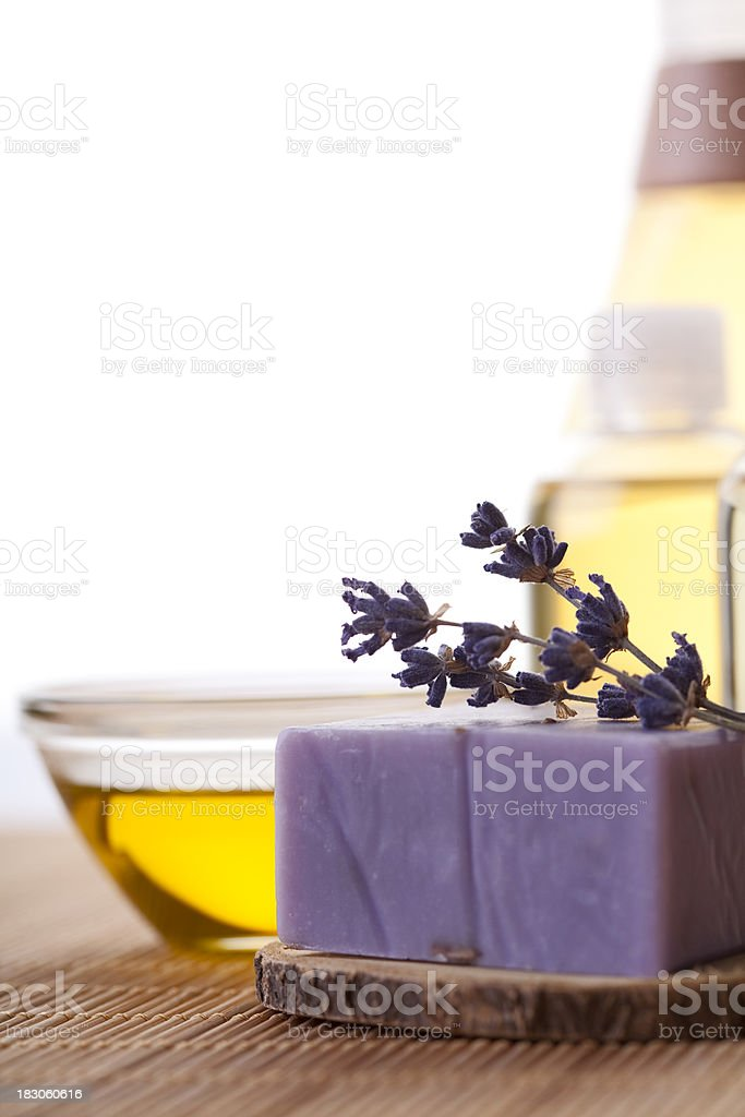 Spa Concept With Lavender royalty-free stock photo