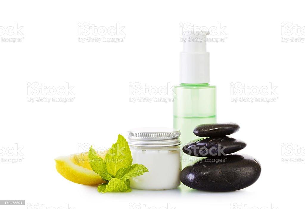 Spa cosmetics stock photo