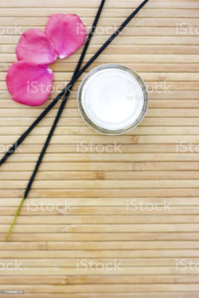 Spa Cosmetics royalty-free stock photo