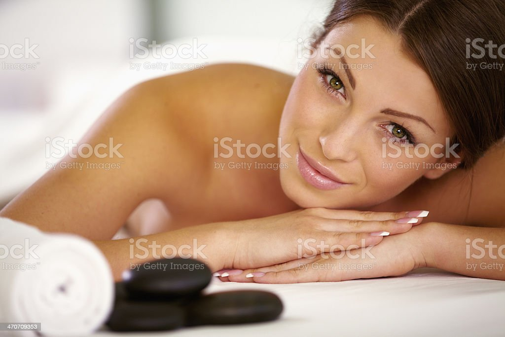 Spa day just for me royalty-free stock photo