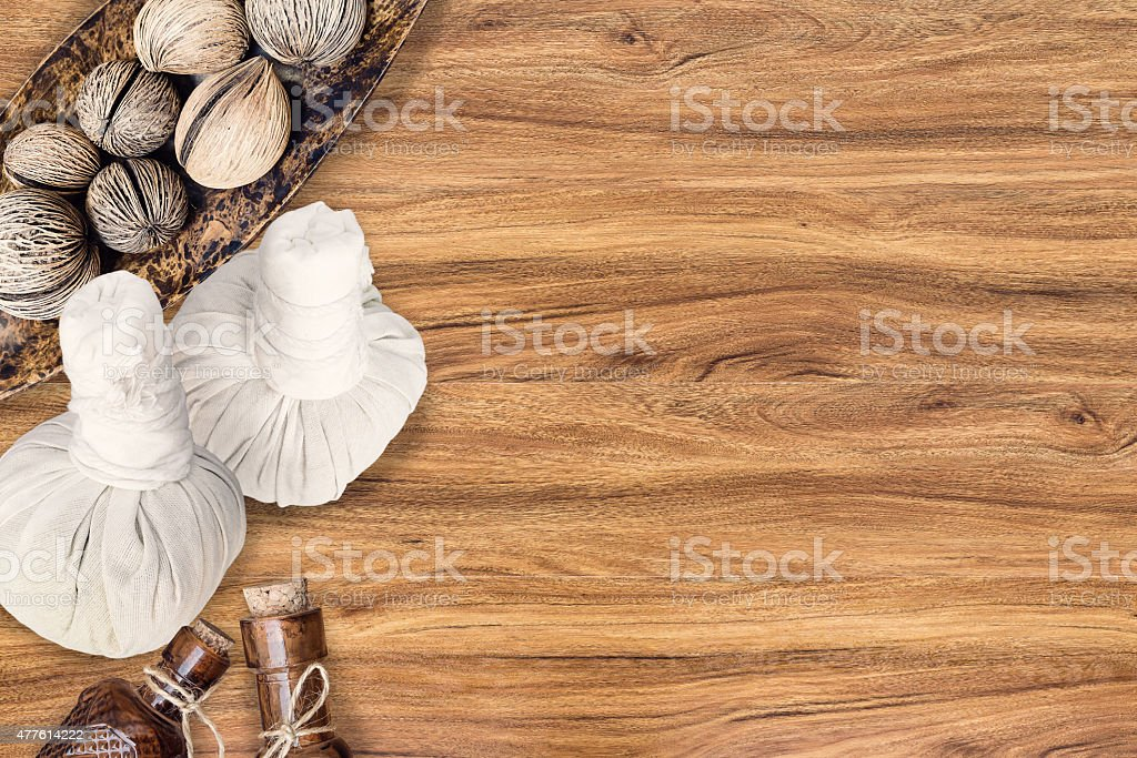 spa decoration stock photo