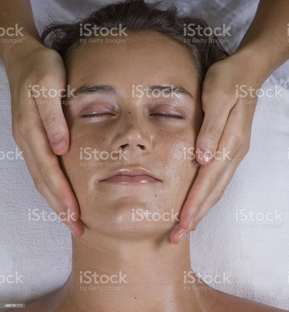 Spa Facial royalty-free stock photo