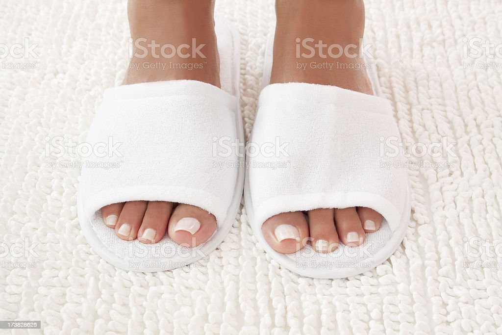 Spa Feet stock photo