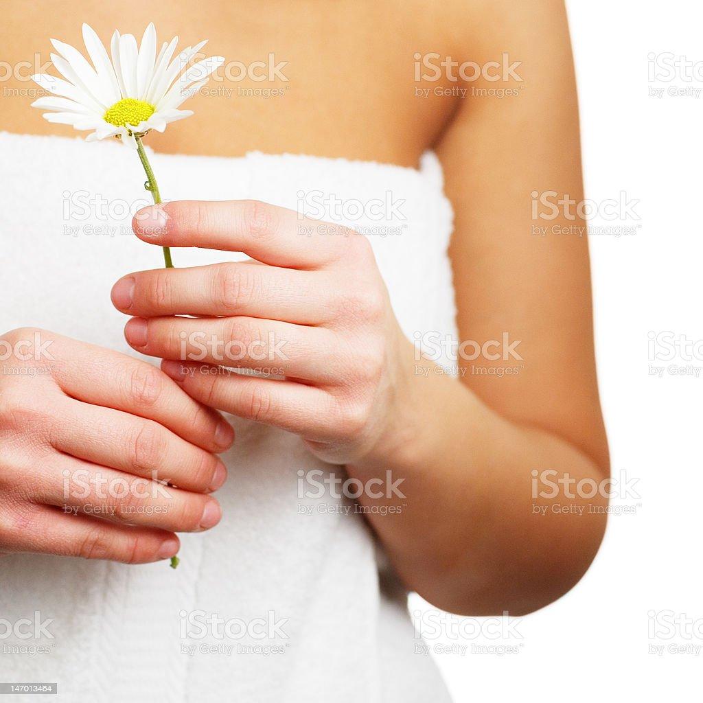 Spa Flower royalty-free stock photo