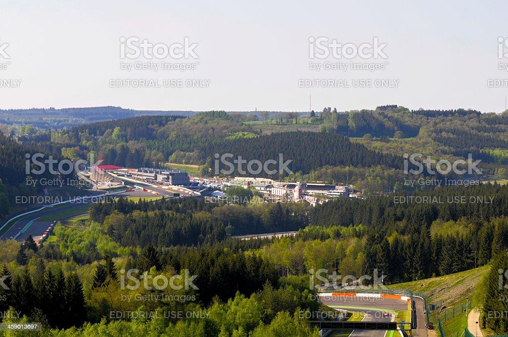 Spa Francorchamps stock photo