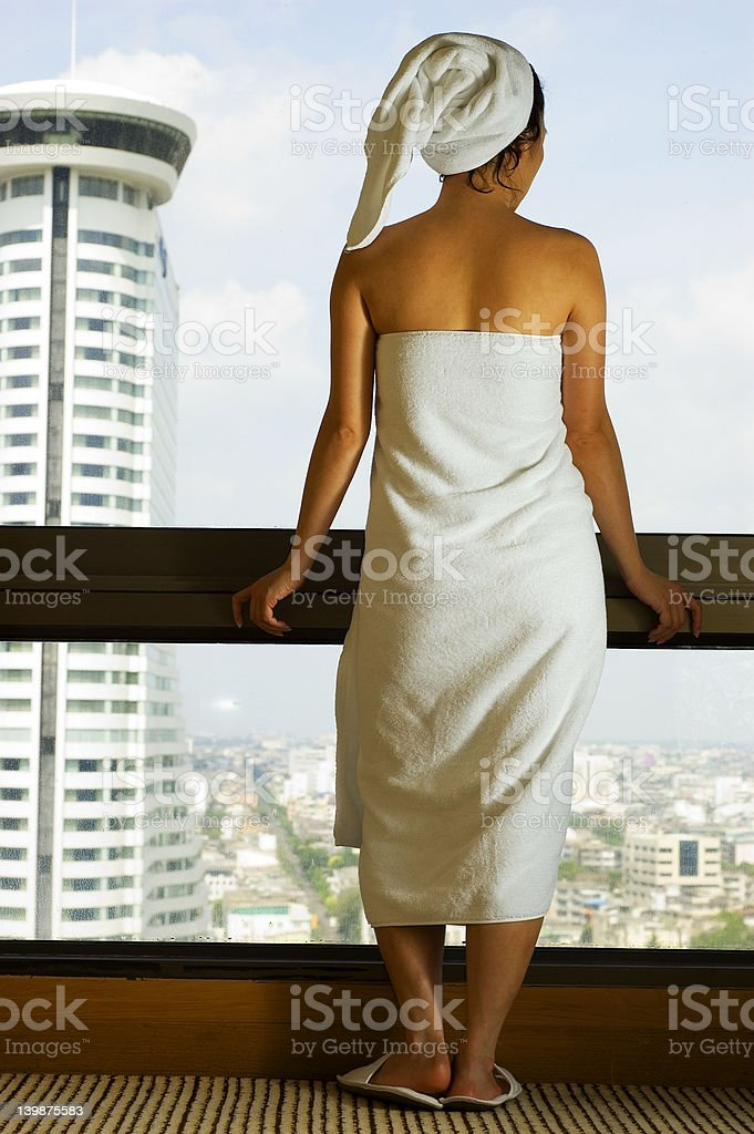 Spa girl royalty-free stock photo