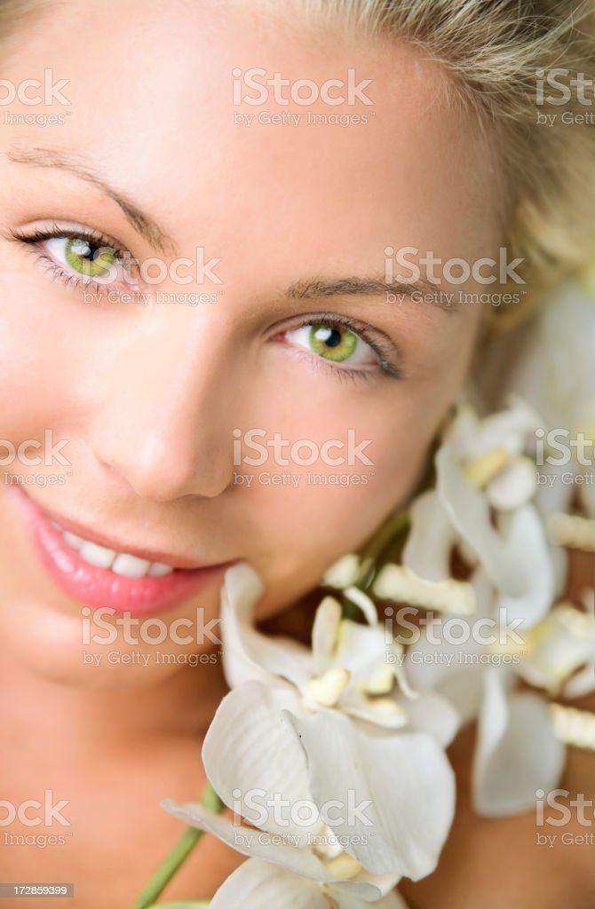Spa girl royalty-free stock photo
