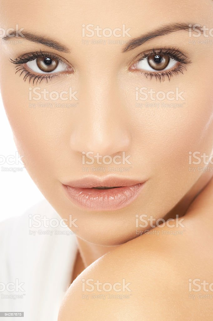 Spa girl # 17b royalty-free stock photo