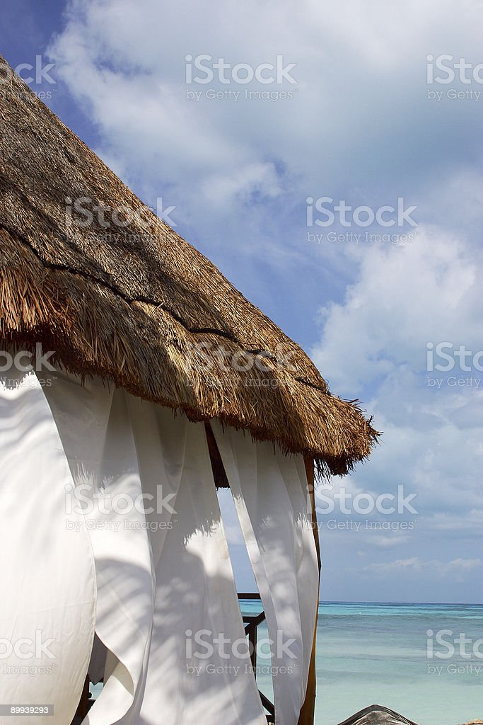 spa in cancun royalty-free stock photo