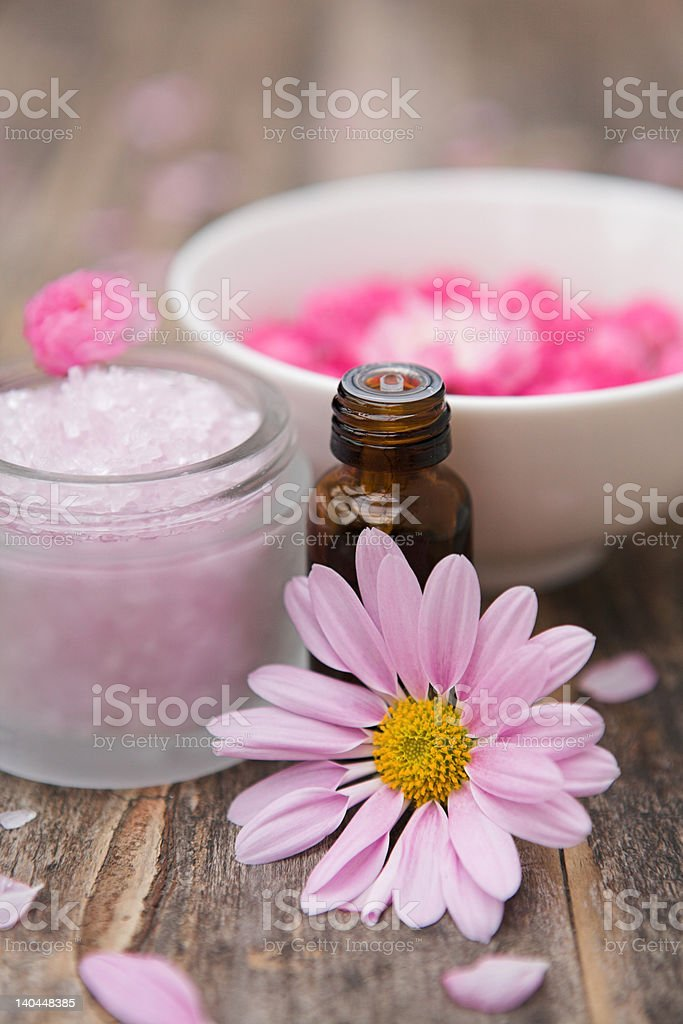 Spa ingredients royalty-free stock photo