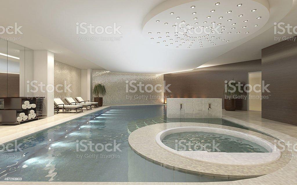 Spa Interior stock photo