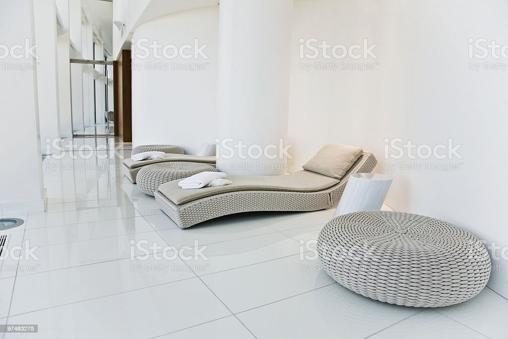 Spa interior royalty-free stock photo