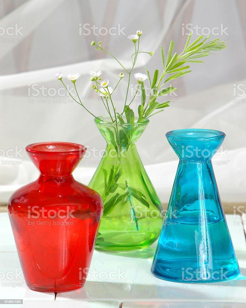 Spa Jars royalty-free stock photo