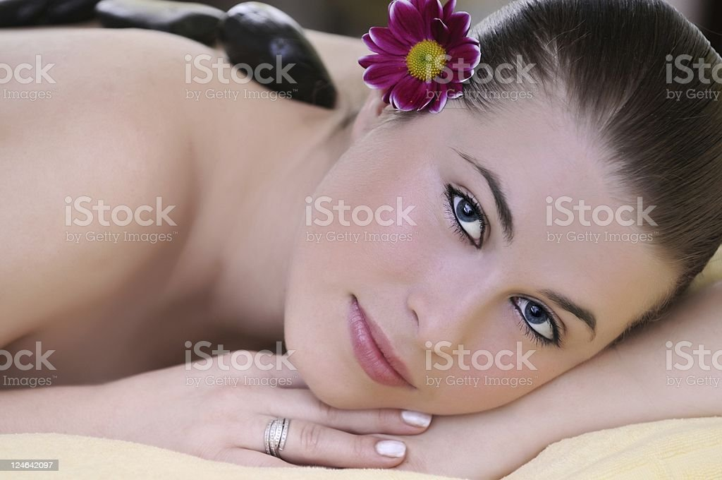 spa massage royalty-free stock photo