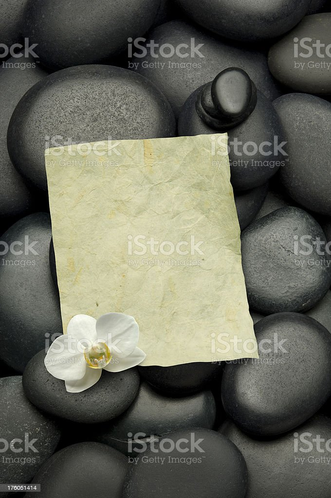 Spa Message royalty-free stock photo