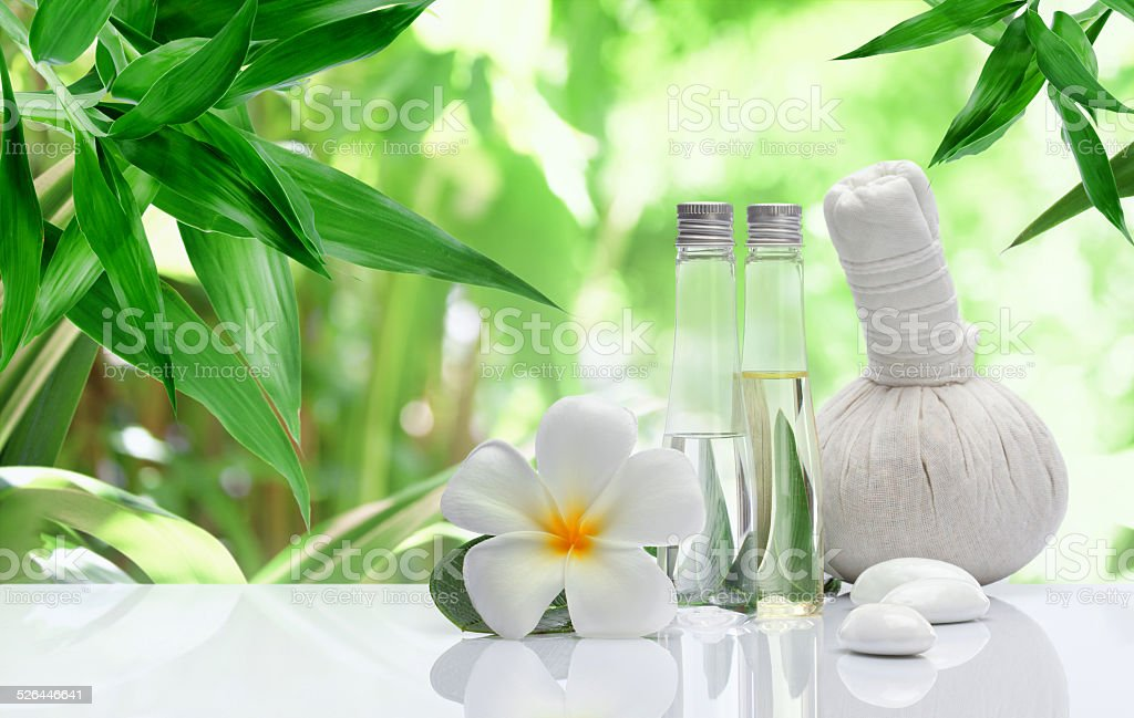 spa objects stock photo