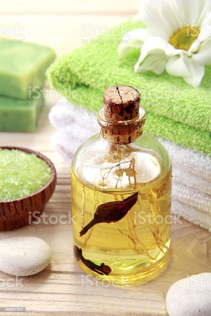 spa oil stock photo