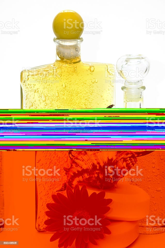 Spa Oils. royalty-free stock photo