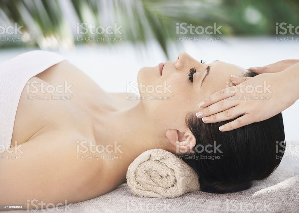 Spa perfection royalty-free stock photo