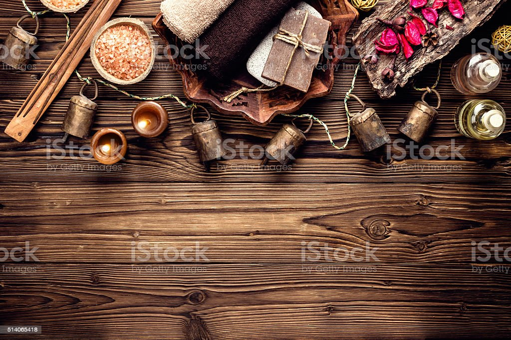 spa stock photo