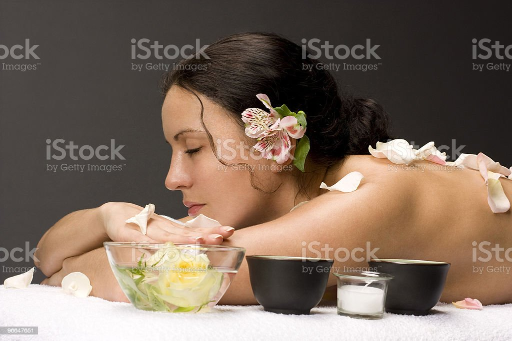 spa procedures royalty-free stock photo