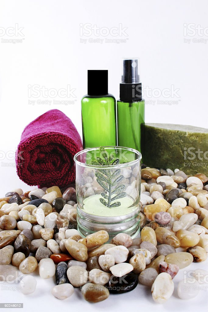 Spa products royalty-free stock photo