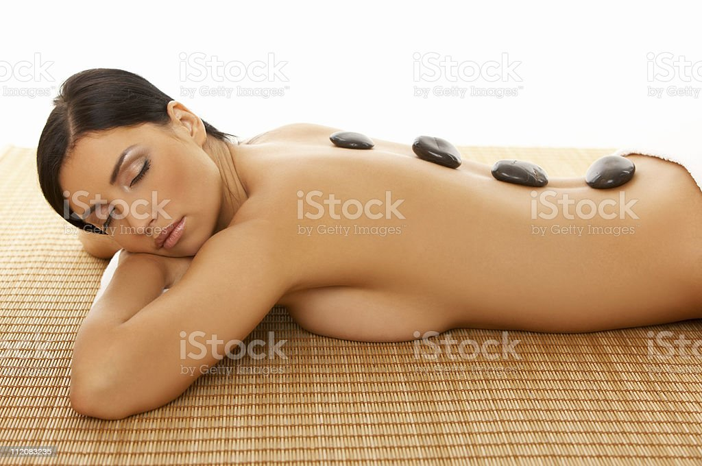 Spa Relaxing royalty-free stock photo