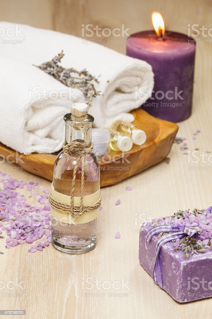 Spa resort and wellness composition stock photo