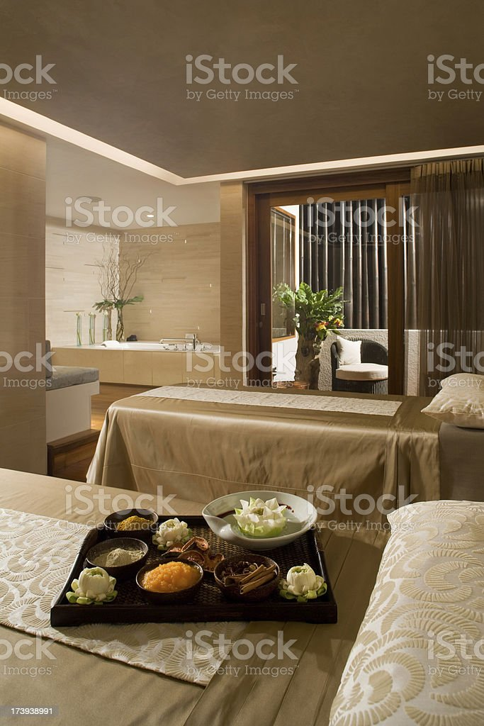 Spa Room royalty-free stock photo