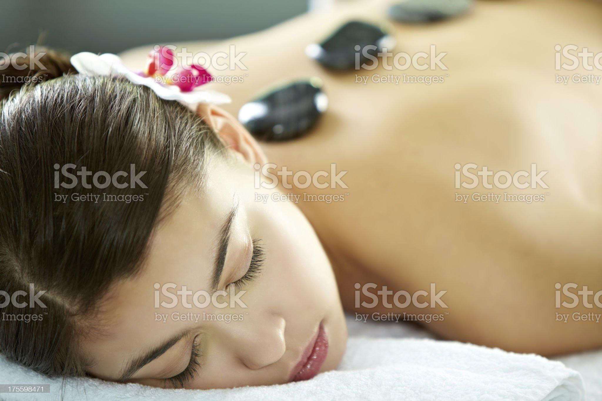 Spa salon royalty-free stock photo