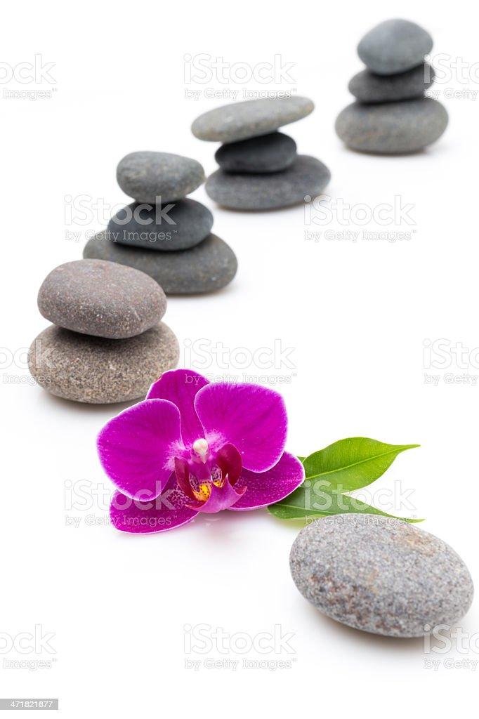Spa stones. royalty-free stock photo