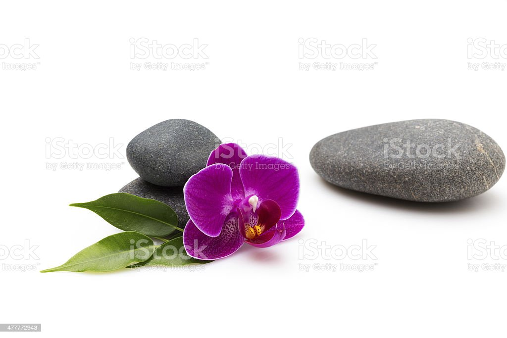 Spa stones. royalty-free stock photo