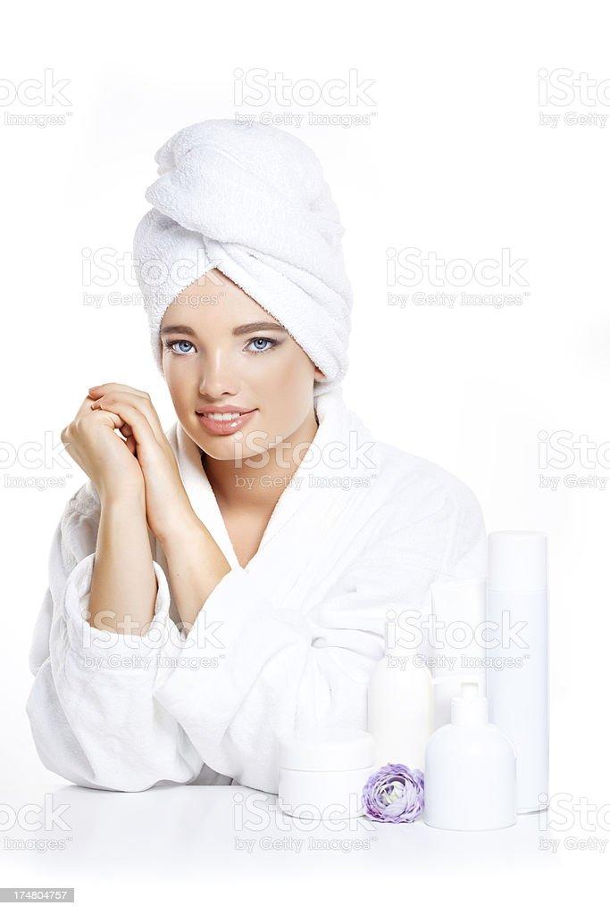 spa teen girl royalty-free stock photo