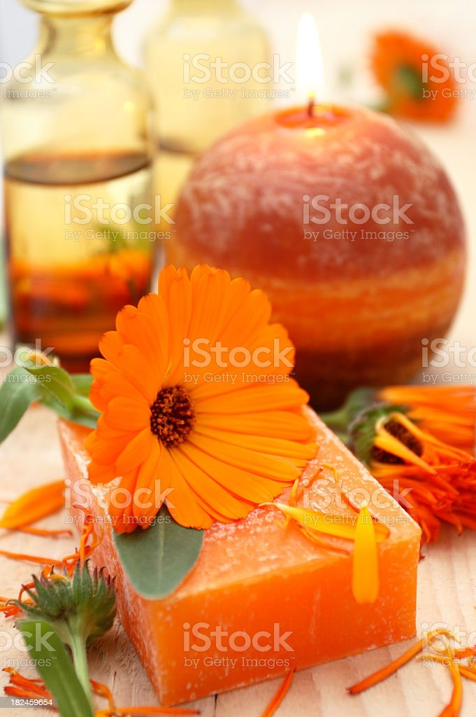 Spa theme. royalty-free stock photo