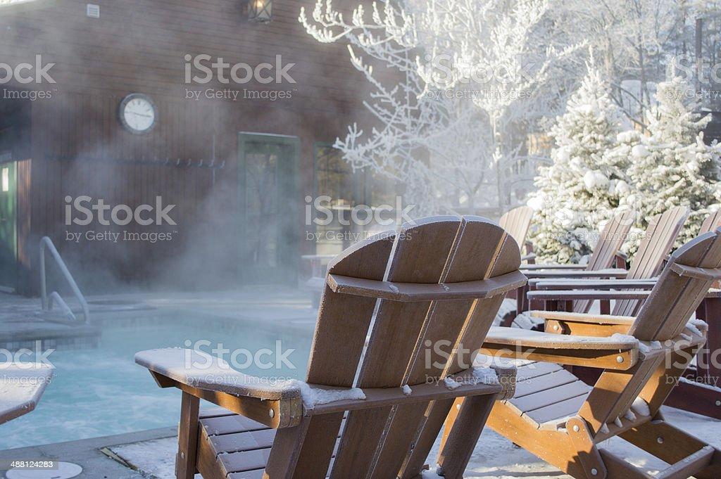spa time stock photo