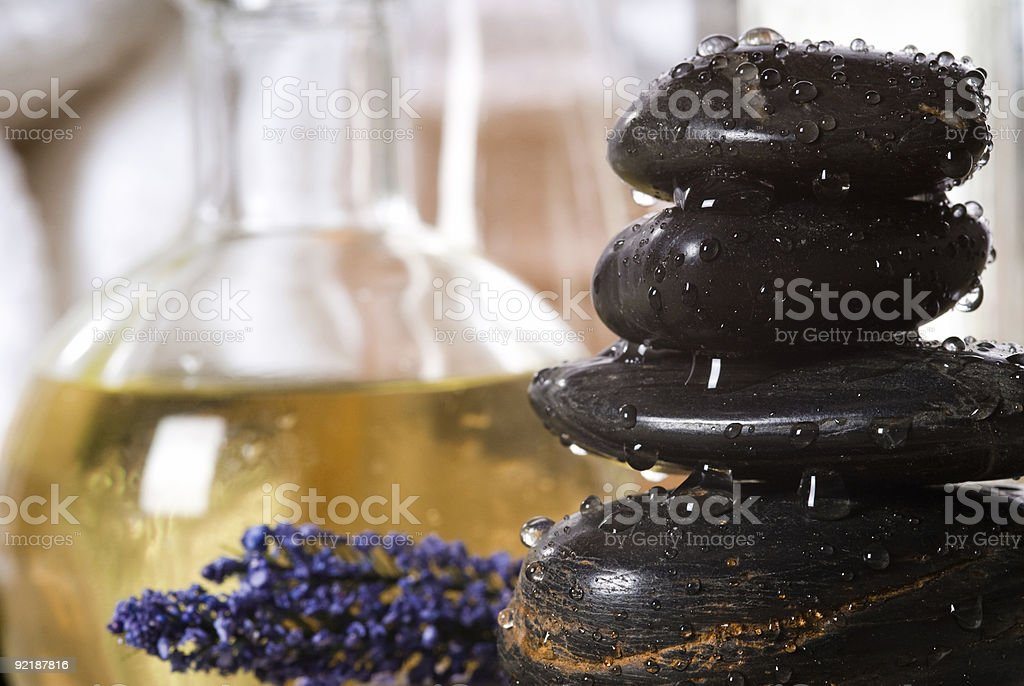 spa tools royalty-free stock photo