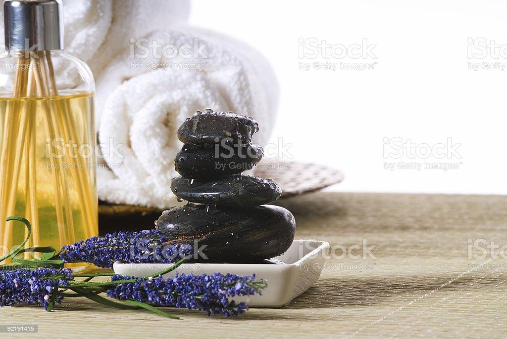 spa tools royalty-free stock photo