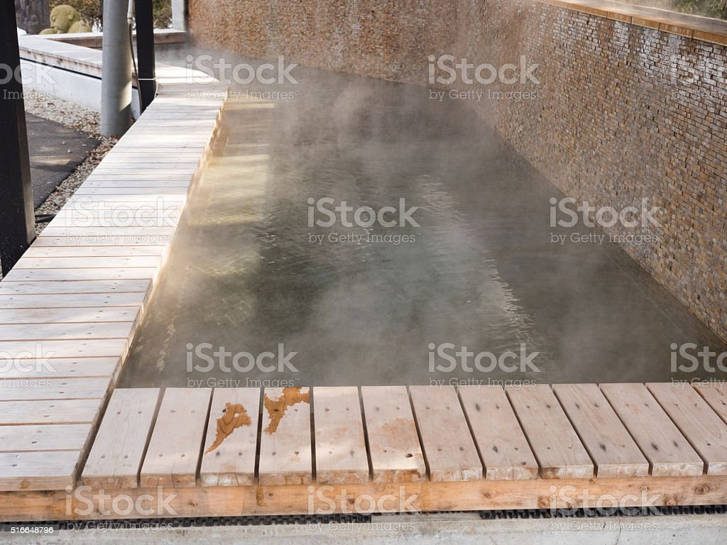 Spa town of footbathFootbath stock photo