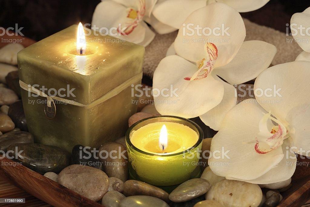 Spa Treatment Aromatherapy stock photo
