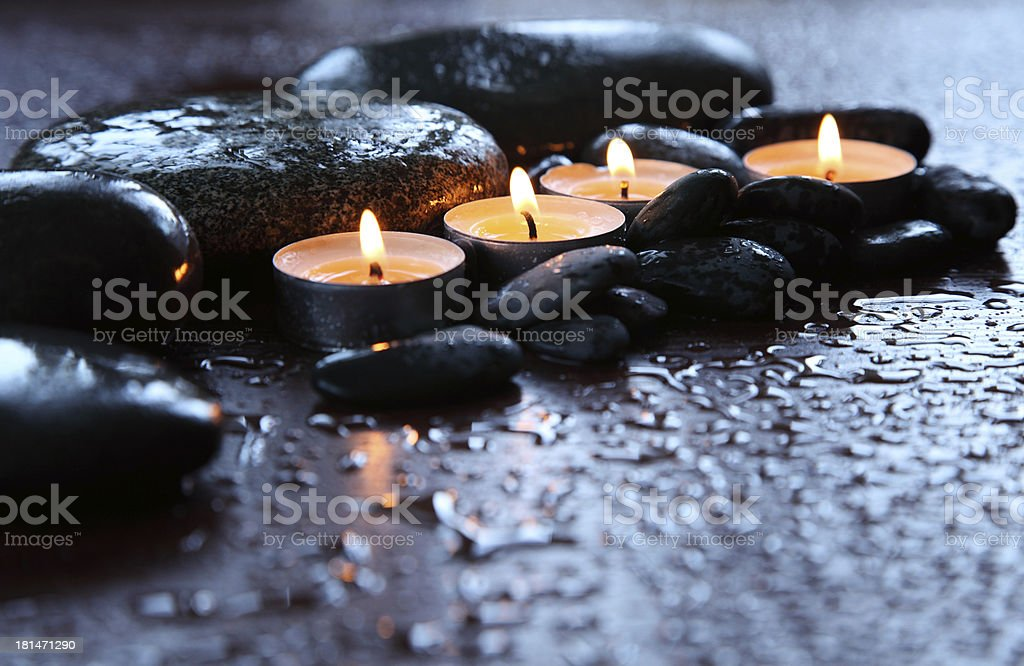 Spa Treatment Aromatherapy stock photo