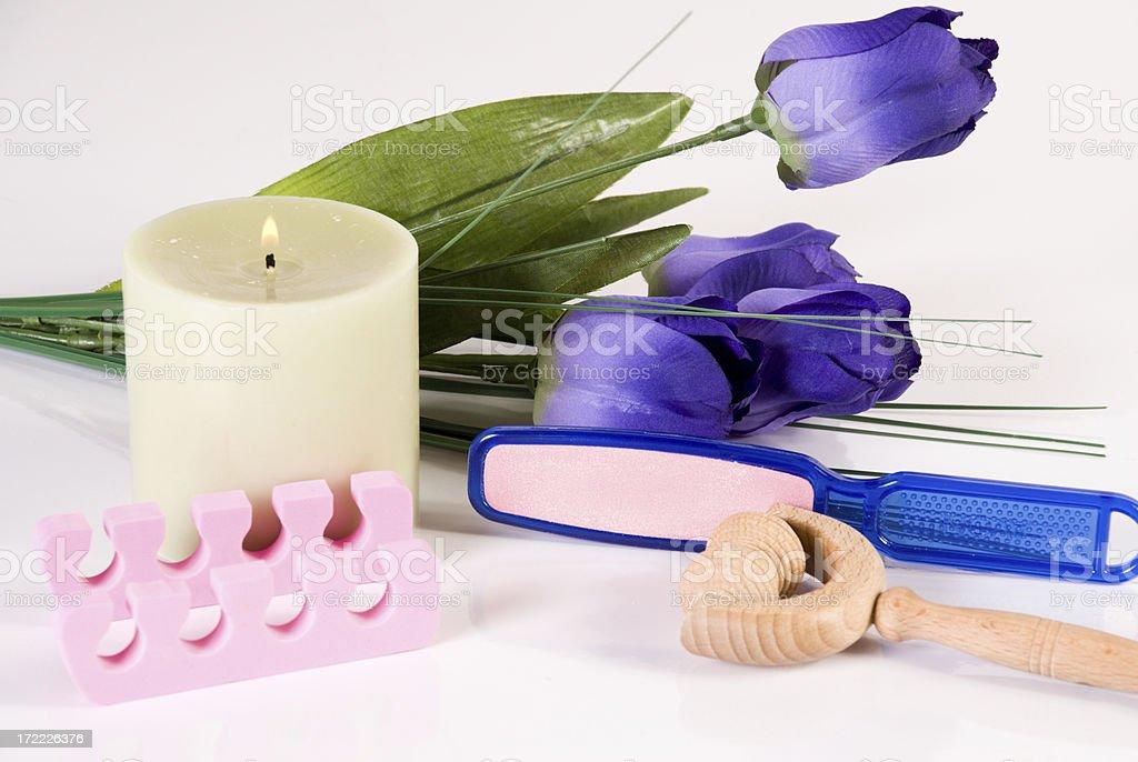 Spa Treatment kit stock photo