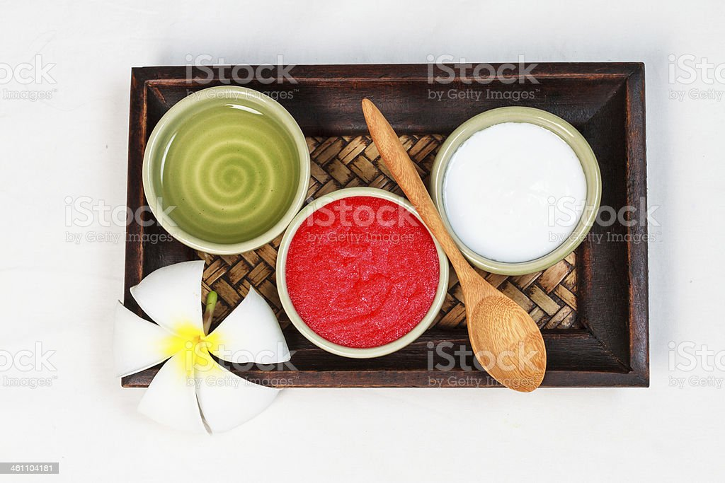 spa treatment kit royalty-free stock photo