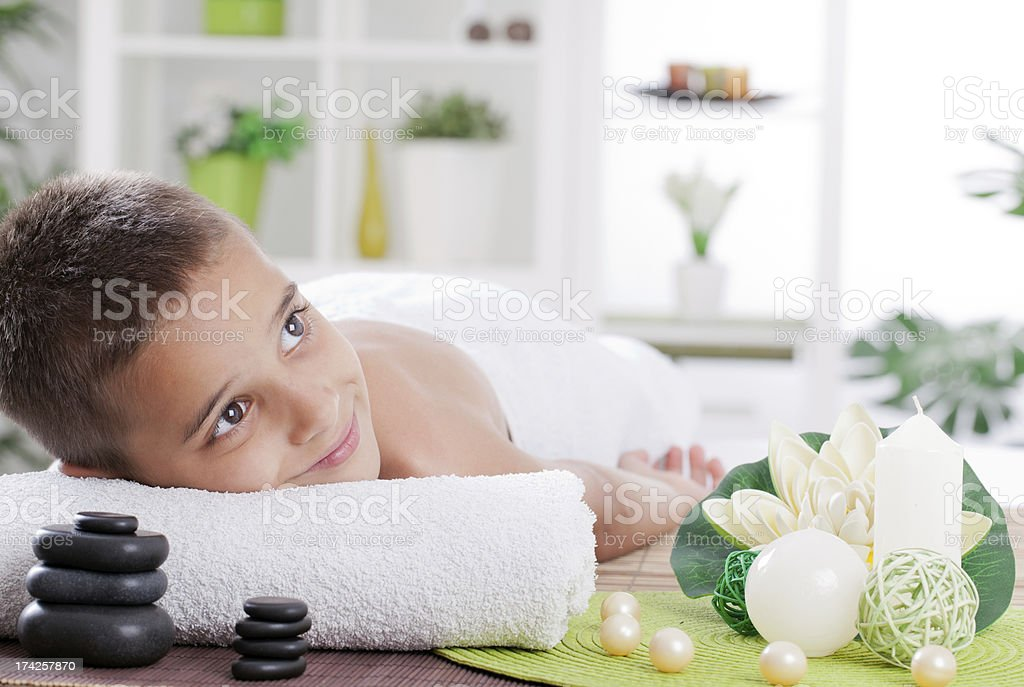 spa treatment stock photo