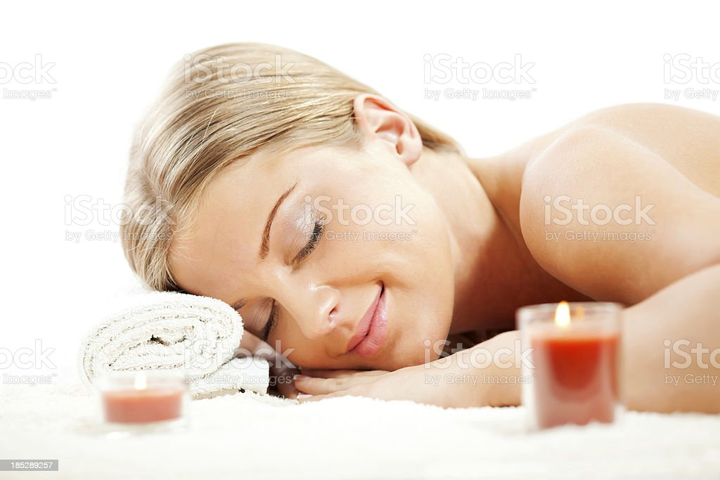 Spa treatment royalty-free stock photo
