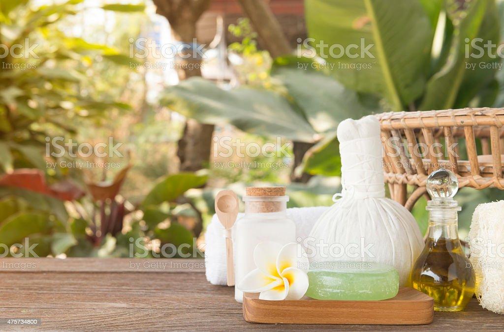 Spa treatment stock photo